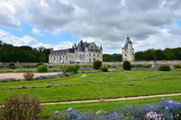 view of the castle from afar with the green gardens. , donghenz - June 2012