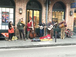 Just music in theQuarter , Denise M - April 2016