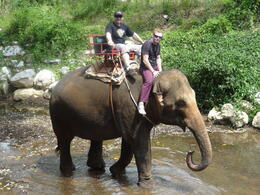 Father / Son cycling trip - Thailand. , Stephen M - May 2013