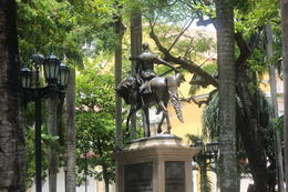 Plaza Bolivar in Cartagena., Bandit - September 2012