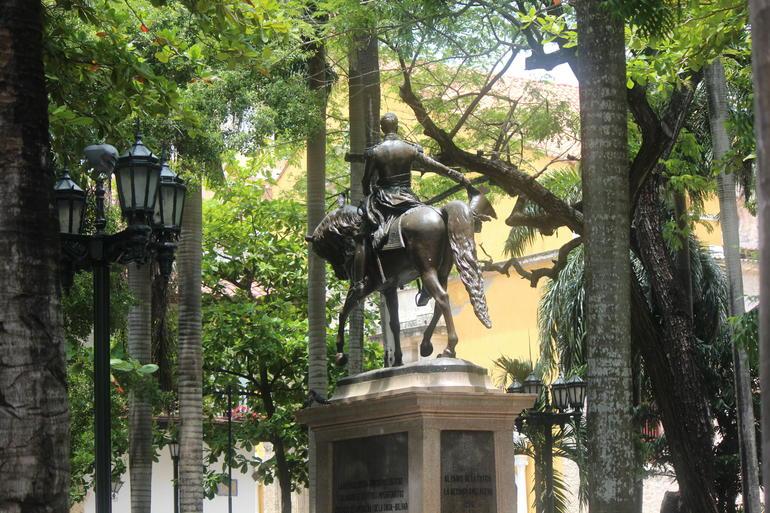 Plaza Bolivar - Cartagena