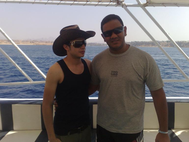 Posing - Sharm el Sheikh