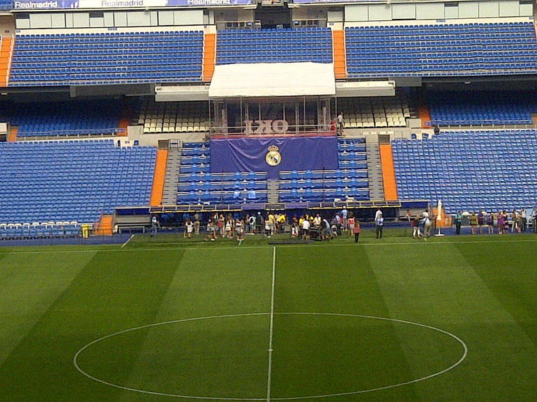 Real Madrid stadium - Madrid