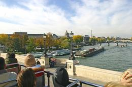View of the Seine from the Open Bus - January 2010