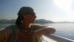 Sur le Ferry en route pour ST-Tropez , Roth-Lombardo D - July 2015