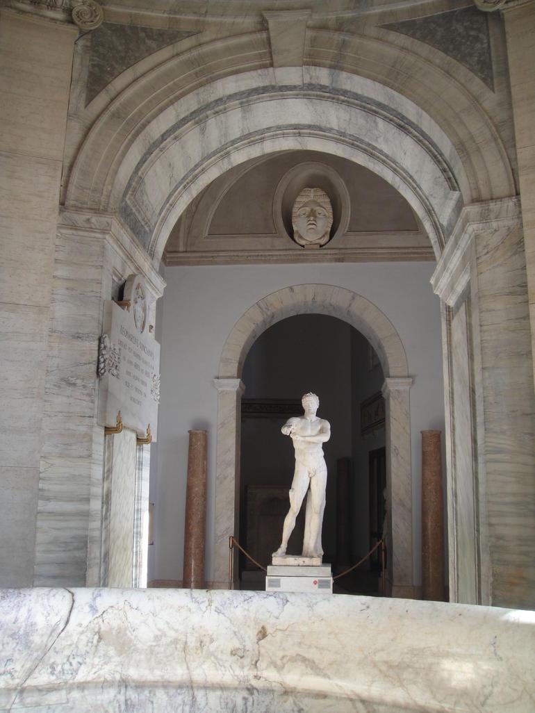 Vatican Museums Walking Tour - Rome