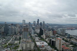 Atop Space Needle , Derrick H - June 2014