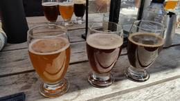 Three beers to taste from a local microbrewery , Ian L - May 2017