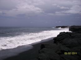 Black san beach - Big Island 5-2-2011 , Linda Z - June 2011