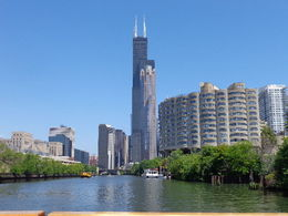 Chicago architecture from Lake Michigan , Cindi K - August 2015