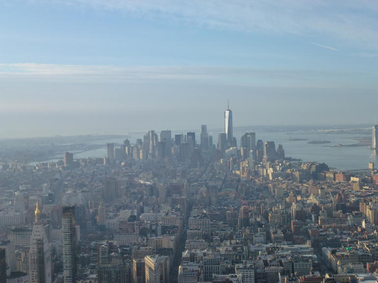 Aussicht vom Empire State Building - New York City