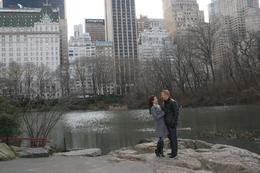 Our favorite picture in Central Park - December 2009