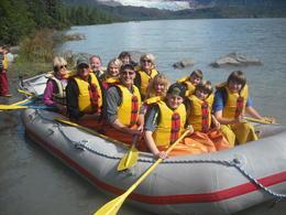 Rafting Trip - August 15, 2012 , Michaela S - August 2012