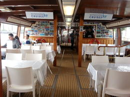 Enjoying our Gold Coast lunch cruise - July 2013