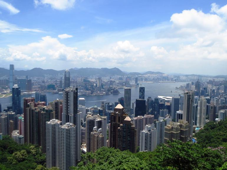 Hong Kong from Victoria Peak - Hong Kong