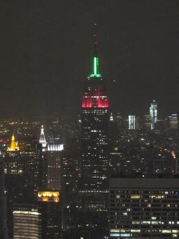 Views from the top of the rock!! , Kavi - January 2012