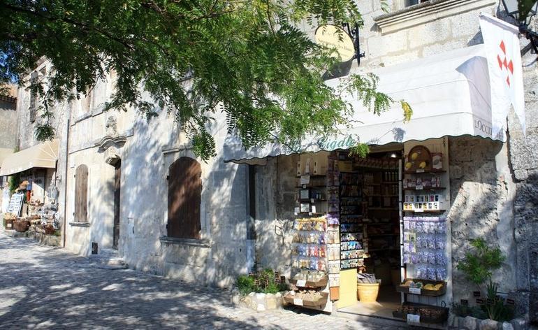 The village of Les Baux - Avignon