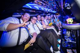 Group Shot in the Limo - I mean look at how cool it is! , Alexa P - October 2016