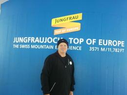 I'm on top of the world!!!! , Mervyn B - July 2013