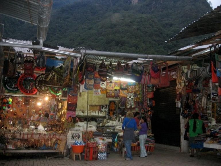 Market in Aguas Calientes - Cusco