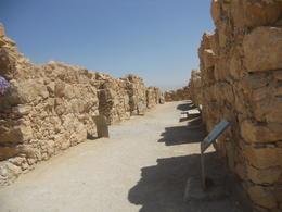 Ruins in Masada , Leonila C - May 2014