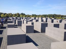Memorial to the Murdered Jews of Europe , Stephen D - October 2016