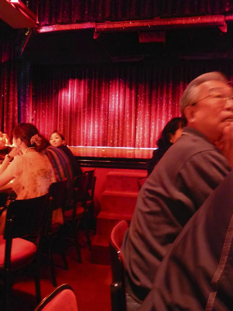 Our seats - Paris