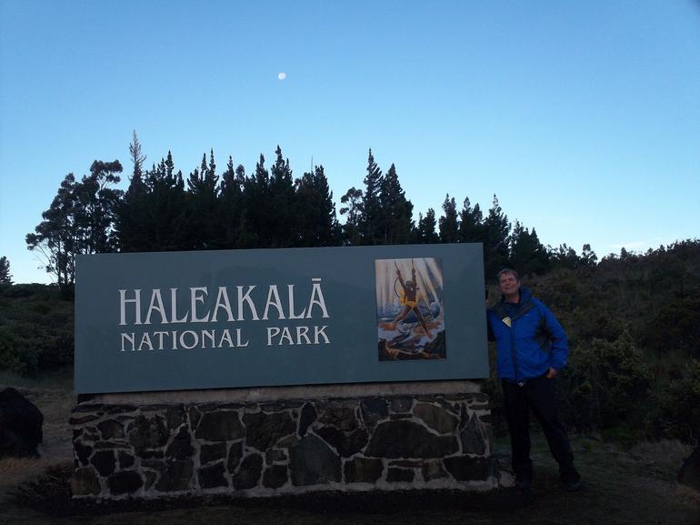 Park enterance - Maui
