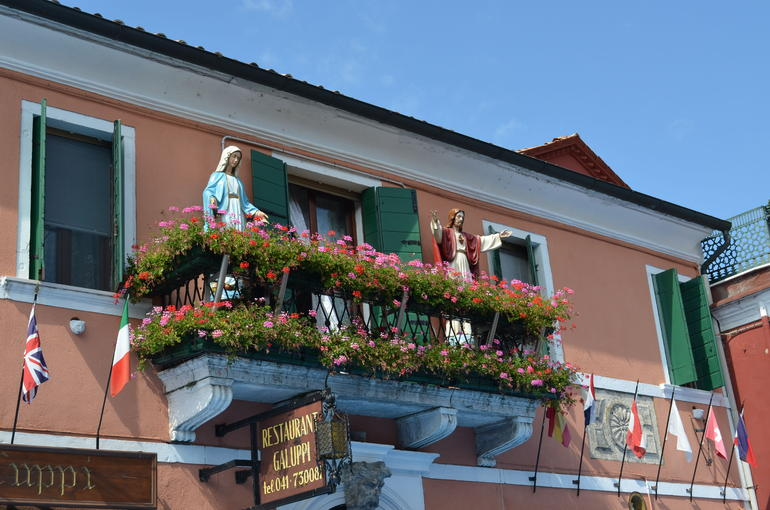 Restaurant Galuppi with figurines - Venice