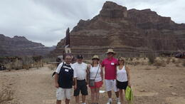 Dave, Gommer, Joanne, Bill and Annette on tour. , Annette B - July 2014