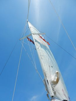 This is the sail from below obviously. , Kimberly S - July 2016