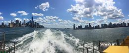 Lots of time in the harbor and on the Hudson and East rivers, great views. , Chris P - August 2016