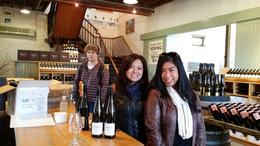 At Yering Station, buying some wine to ship back to Sydney , josdp - July 2014