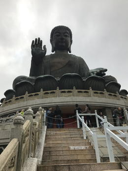 The Big Buddha isn't particularly old but there's some great history inside , Lulu Belle - January 2017