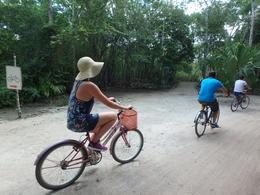 Bike riding in Coba , Anita L - June 2017