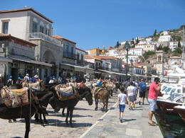 Hydra harbor - no cars! only mules and donkeys!. , Gerhard - August 2017