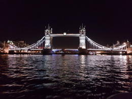 Tower Bridge seen from the river , Annelore W - December 2017