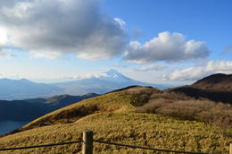 Mt Fuji from Mt Komagatake , Chun Chyang Y - December 2011