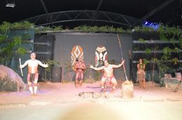 Aboriginal dance performance , aaritu - November 2015