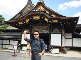 Kavin in Kyoto Imperial Palace, KAVIN SIM - September 2010