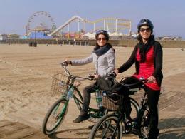 Santa Monica Beach, Blanca - April 2012