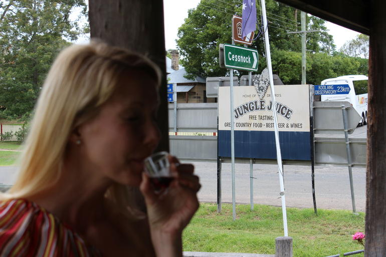 Jungle Juice tasting, Wollombi NSW - Sydney