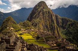 Wide shot of Machu Picchu , Eddie C - September 2013