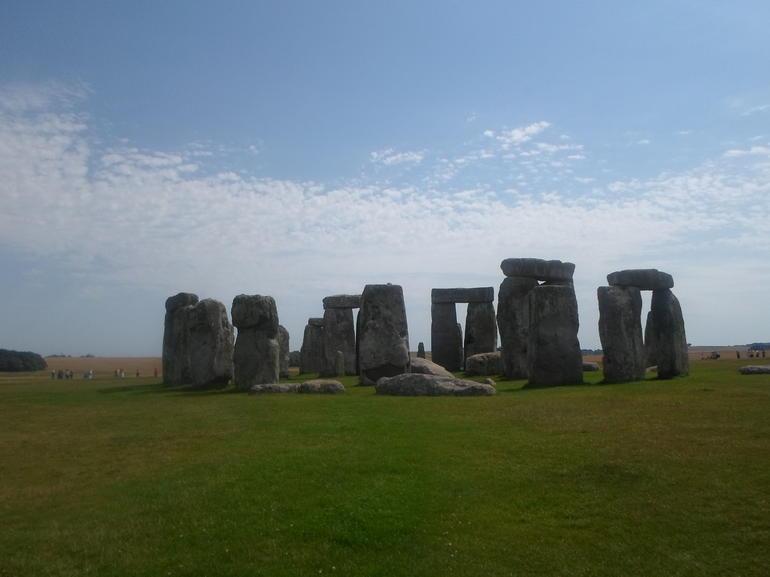 mooi dag voor Stonehenge - London