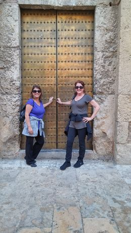 Madelyn Green and Linda Stout , Madelyn G - November 2015