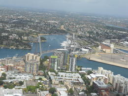View of Sydney. Very pretty from up here , DAVID B - March 2011