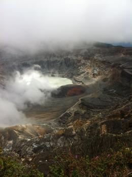 at the mouth of an awesome volcano , miguel - April 2013