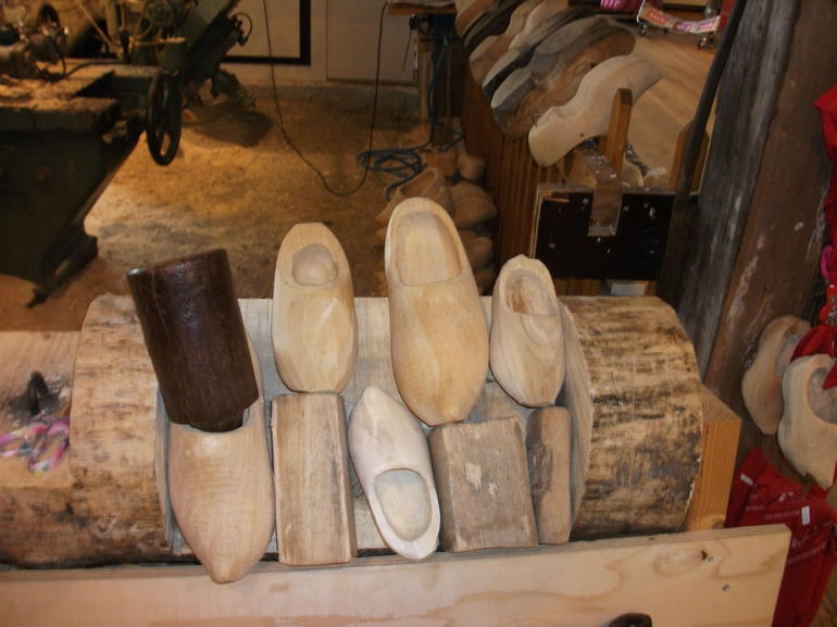 Raw Wooden Shoes - Amsterdam