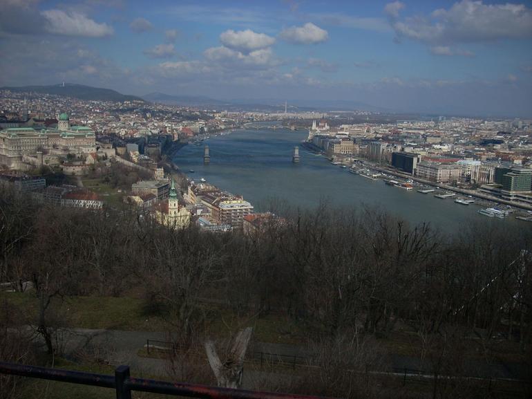 View from Gellert hill - Budapest