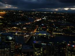 As the sun set, Sydney started to twinkle... Stunning., Victoria J - September 2010